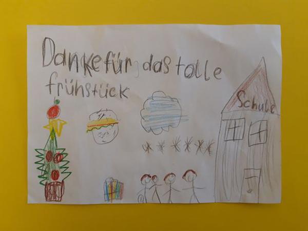 >Frühstück für Kinder< freut sich über zahlreiche Weihnachtsspenden